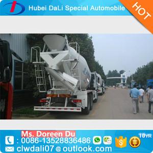 2016 best selling 6 CBM small cement mixer truck concrete mxier truck price