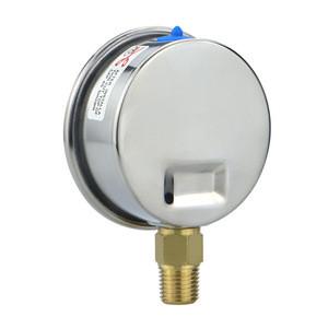 4inch brass connection pressure gauge hydraulic pressure gauge