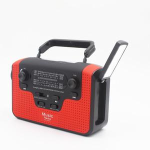 AA battery dynamo rechargeable multi functional dynamo radio flashlight portable radio