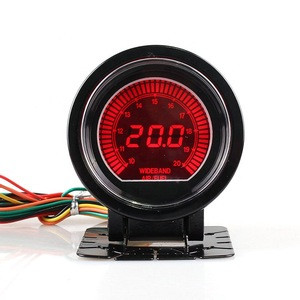 Accuracy Car Universal 60mm Numbers Turn Auto Meter Gauge