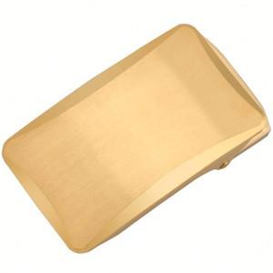 Alfa Gold Ratchet Belt Buckle Matel Automatic Buckle For Men