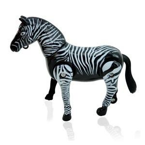 Animatronic Animals 2 person horse zebra mascot costume for Sale