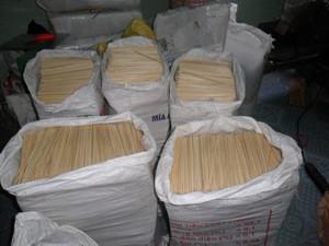 Bamboo skewer, bamboo sticks