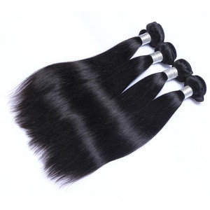 Best Selling Natural Color Remy Grade 9A Virgin Hair Straight Hair Extensions