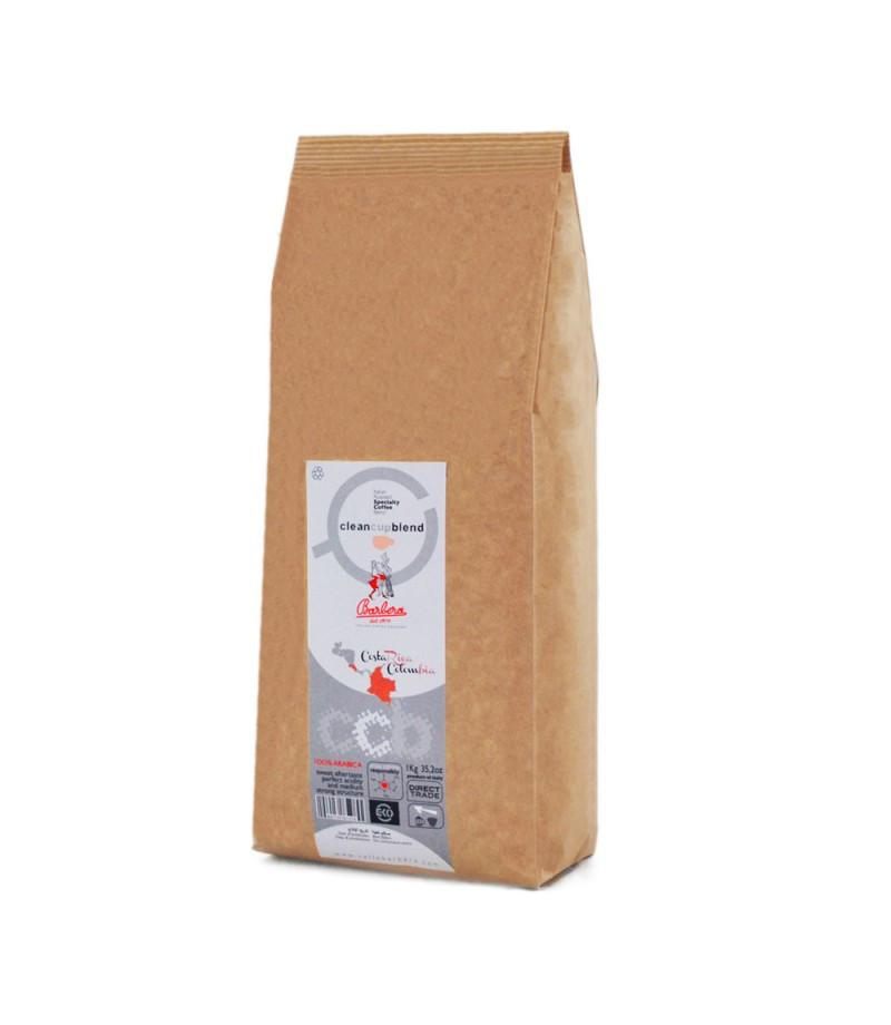 Clean Cup blend 100% Arabica whole bean coffee blend