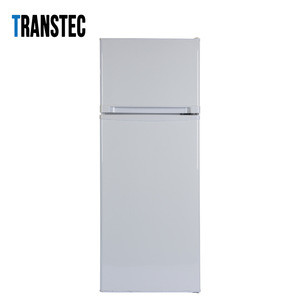 DC 12V Double Doors Top Freezer Solar Powered Refrigerator Freezer  178L