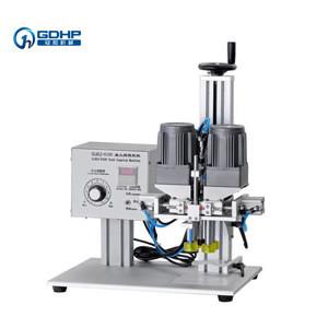 Desktop Manual Semi-automatic Pneumatic Screw Capping Machine For Plastic Glass Bottle Sealing