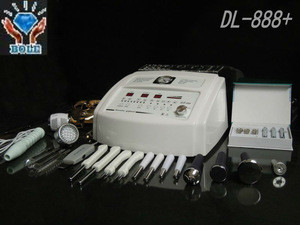 Diamond Ultrasonic Skin scrubber Microcurrent Beauty Microdermabrasion Machine DL-888+