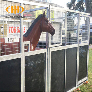 Different styles of horse products and horse stable can be customized
