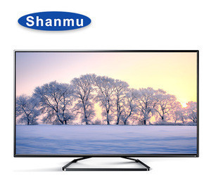 Double glass DC 12V led tv picture tubes prices with wifi T2-S2 led tv asano  for home used manufactory