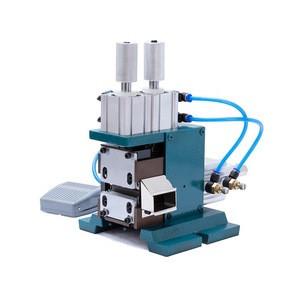EW-10 4F Semi-automatic pneumatic copper  wire stripper stripping machine