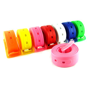 Fashionable Candy Color Silicone Belt