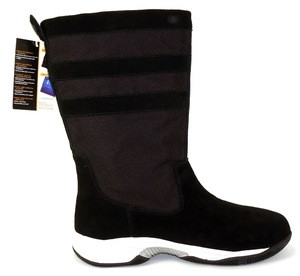 Fashionable Waterproof Genuine Leather with Breathable Membrane Men and Women Cordura Nylon Deck Boots Boat Boots Sailing Boots
