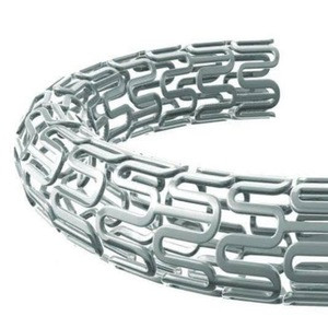 Flexible distal shaft and hydrophilic coating for good trackability Stent Medical BMS Bare Metal Coronary Stent  cardiac stent