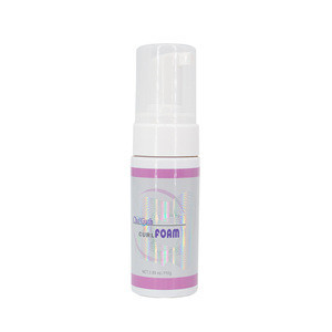 Free sample hair mousse styling foam curling natural with private label alcohol-free with hair foam for women