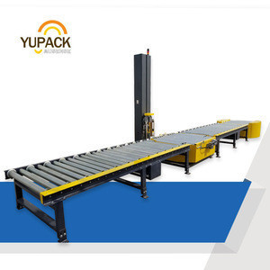 Fully automatic pallet conveyor roller conveyor transport
