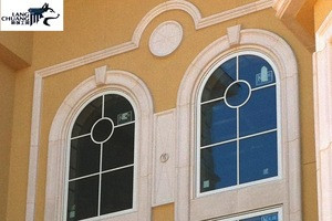 Glass-fiber reinforced cement decoration external wall panel import building material from china grc deco  supplier