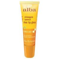 Hawaiian Lip Gloss, Pineapple Quench .42 oz by Alba Botanica
