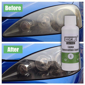 HGKJ-8 auto care 50ML Lamp  hgkj 8 Car polish Lens Restoration Agent  headlight repair Liquid