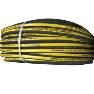 High pressure air water oil fuel industry hose PVC rubber air water hose
