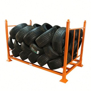 Hot sale commercial tire storage stacking racks