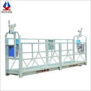 Huiyang ZLP630 6m 630kg Hot-dipped Galvanized Electric Suspended Working Platform