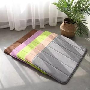 Memory Foam Mat Coral Velvet Floor Mat Outdoor Bathroom Mat Carpets For Living Room