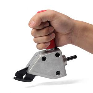Metal Cutting Sheet Cutting Tool Nibbler Sheet Metal Cutter Tool Drill Attachment Power Tool Accessories