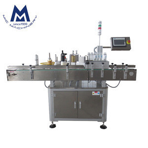 Micmachinery finely MIC-RT60 factory price automatic round bottle sticker labeling labeller machine