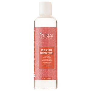 Natural plant hydrating high effective three layers cleansing lotion mild makeup remover