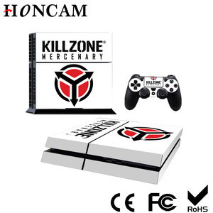 New Designed For PS4 skin sticker game console used sticker with 2 controllers