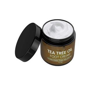 Private Label Natural Organic Foot Care Tea Tree Oil Moisturizing Repairing Foot Cream for cracked heels