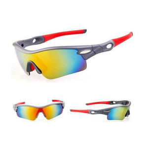 Seasun Custom Oem Optical Attribut Cycling Multi Lens Glasses Yellow Black 3 Lens Polarized Gafas Ciclismo