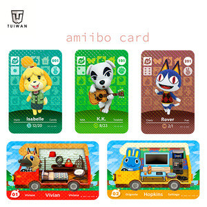 Series 1 2 3 4 (1 to 400) and RV Car for Animal Croosing new horizon Amiibo Card Work for Switch Nintendo NS DS Games