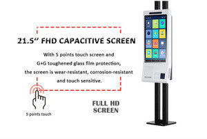 Standalone facial analysis system camera system fingerprint recognition time attendance system