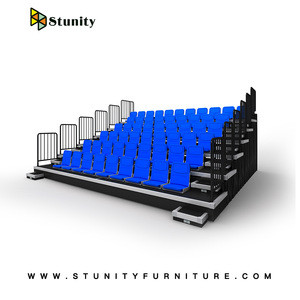 Stunity high school gym bleachers with stadium seats for indoor stadium, arena, school, college use