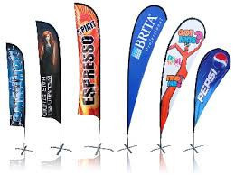Top selling custom design feather signs knife flag 65.3x200cm 3m 4m aluminium pole