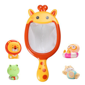 Wholesale Animals Bath Toys Fishing Pool Toy Interactive Bath Time Play Set for Toddlers Kids