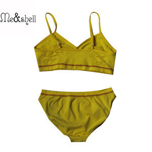 Wholesale fashion kid girl model underwear seamless girls