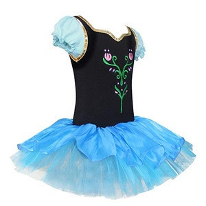 Wholesale Frozen Tutu Dress Girls Dressy Daisy Girls' Princess Anna Tulip Ballet Tutus Dancewear Costume
