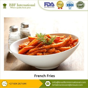 Wholesale Frozen Vegetables Potatoes French Fries in Bulk Packaging