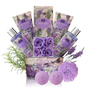 Wholesale Hot Selling Moisturizer Shower Gel Soap  Luxury Body And Care Romantic Spa Bath Gift Set