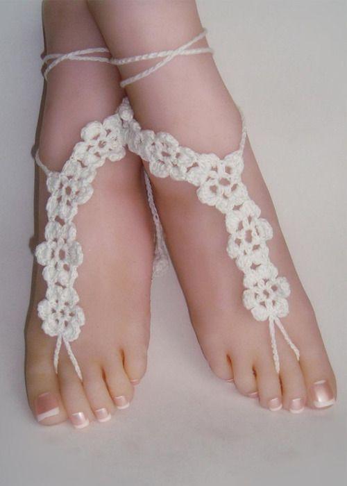 Wedding Barefoot Sandals