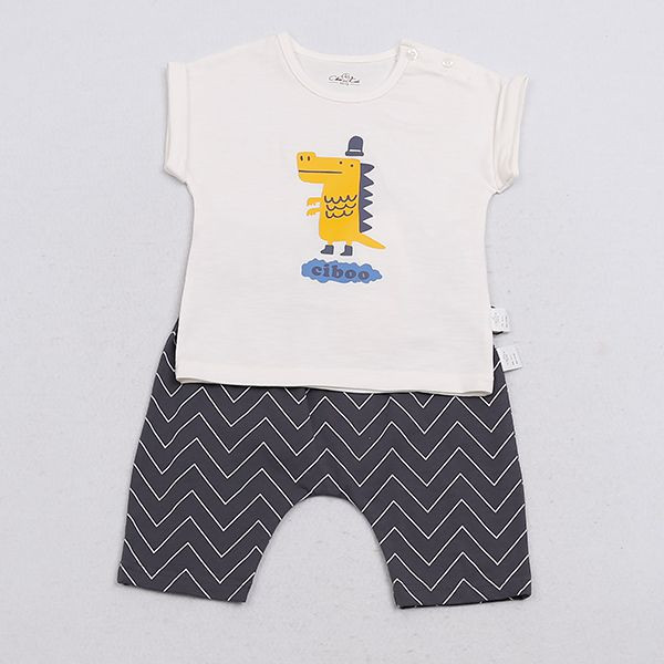 Baby Shirts Clothe Set Short Sleeve Baby Clothes Kids Wear
