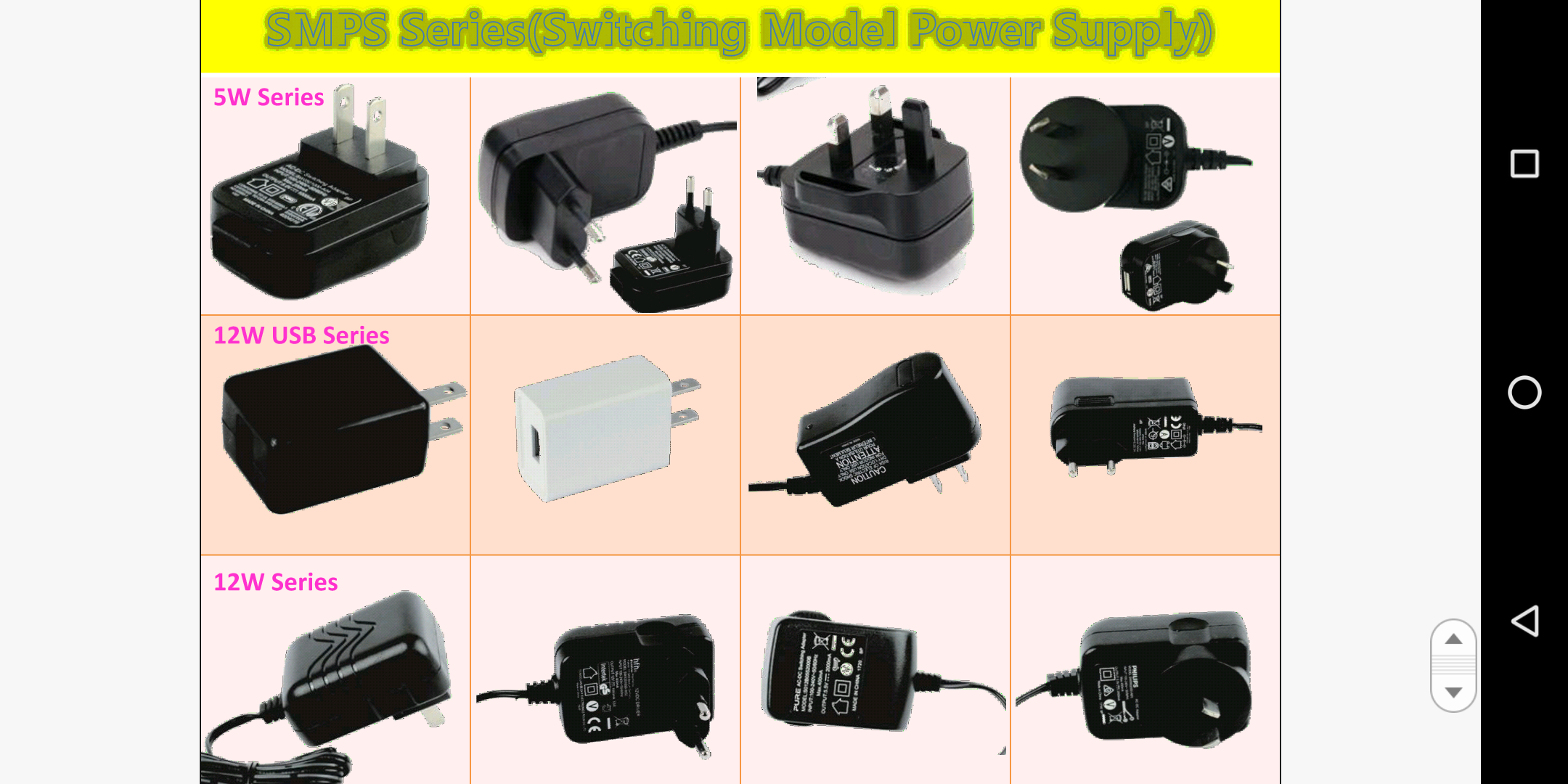 Switching Power Supply, LED Driver / LED Intelligent Driver, Dimming, Sensors