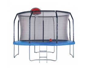 10ft big trampoline with basketboard