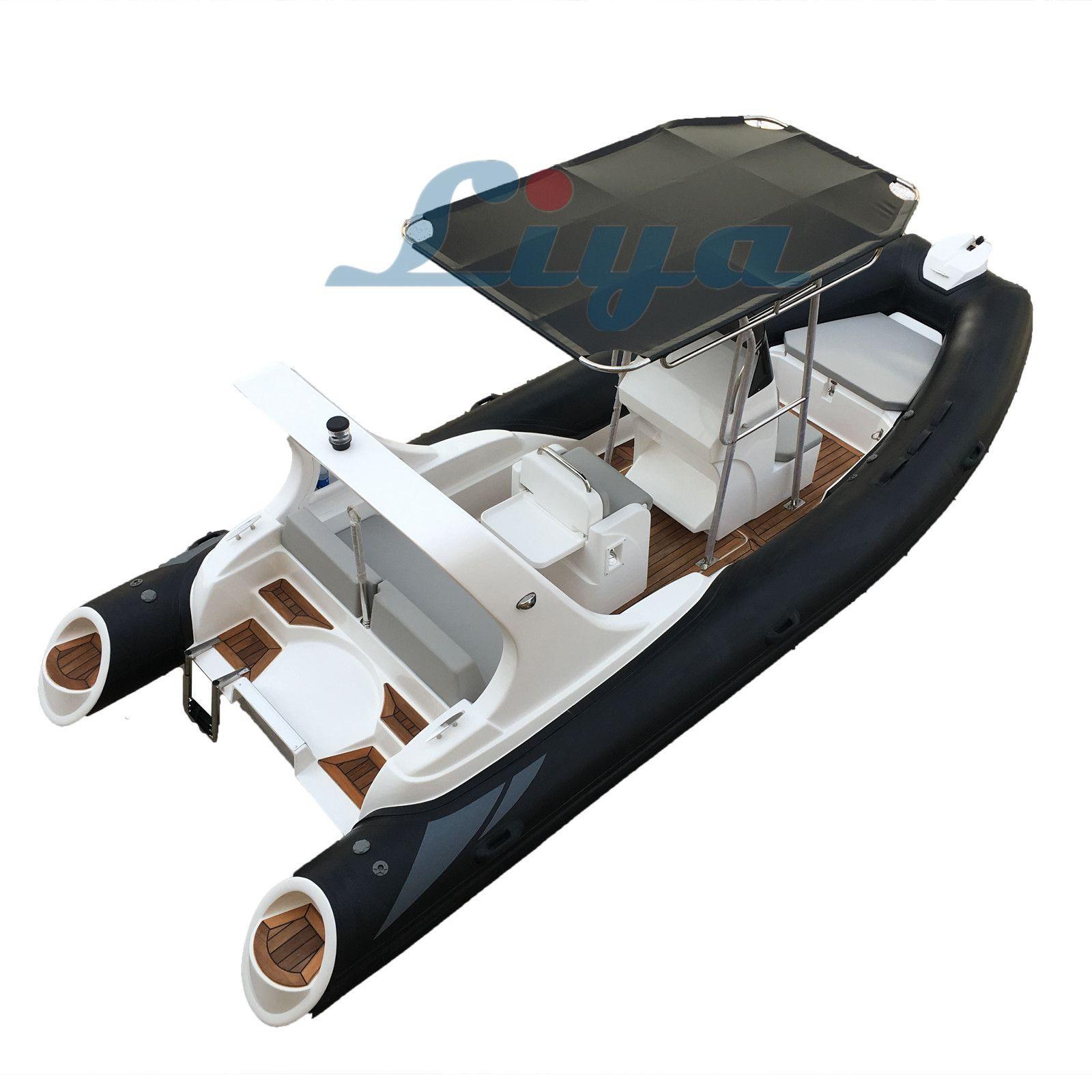 Liya 5.8m/19ft rigid inflatable boat rib boat