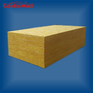 100kg/m3 Rockwool Celling Fireproof Material for Fireplace Panel