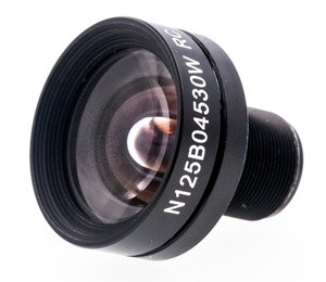 1/1.8 EFL8.0mm FOV60D no distorition lens with IR M12 mount