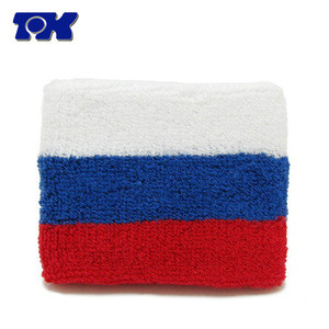 2017 Hot Sale National Team Country Flag Cotton Sweatbands